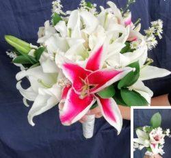Bouquet de novia Lirios